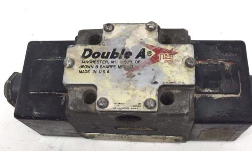 BROWN AND SHARP DOUBLE A SOLENOID QF-01-0-10F1 USED (H249) 1