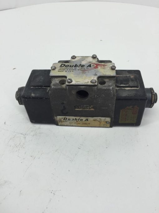 BROWN AND SHARP DOUBLE A SOLENOID QF-01-0-10F1 USED (H249) 2