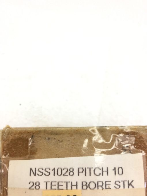 """NEW IN BOX BROWNING NSS1028 External Tooth Spur Gear 10"""" PITCH, 28 TEETH, (A125) 2"""