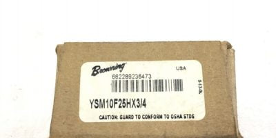 "NEW BROWNING YSM10F25H Emerson MITER GEAR 25 TEETH 3/4"" BORE 10"" PITCH, (A129) 1"