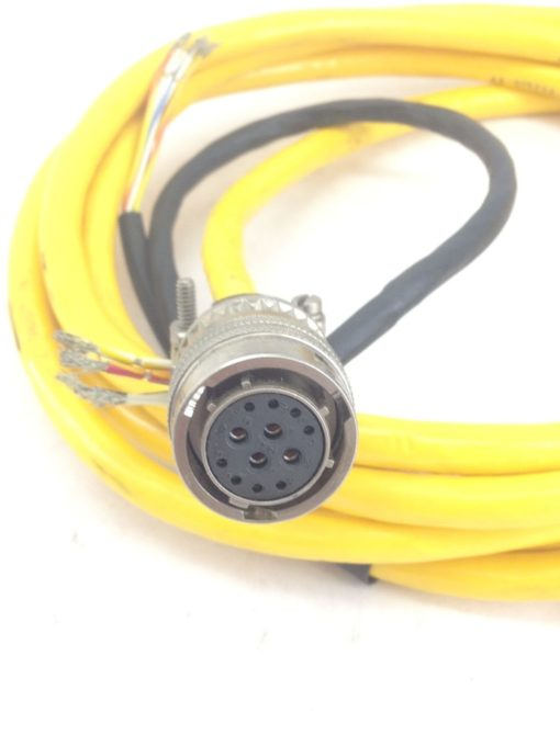 USED PARKER COMPUMOTOR CABLE 71-015017-10 Rev B, AMPHENOL PTD6E-14-12S (H165) 2