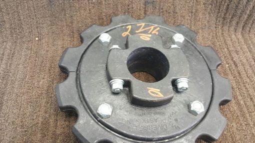 Diversified Plastics Split Hub Sprocket 81X 2 7/16 12 Teeth *NEW* (B204) 3
