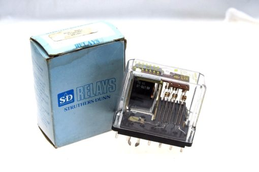 STRUTHERS & DUNN MSD 219DXBP 10AMP 120VAC 50/60HZ 14 PIN RELAY NEW IN BOX! (G70) 1