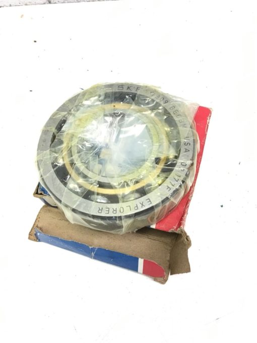 NEW IN BOX SKF 7309BECBM Angular Contact Ball Bearing, EXPLORER, FAST SHIP! B295 1