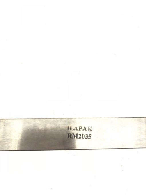 NEW ILAPAK RM2035 ANVIL FLAT BAR FOR FLOW WRAPPERS, FAST SHIP! (H336) 2