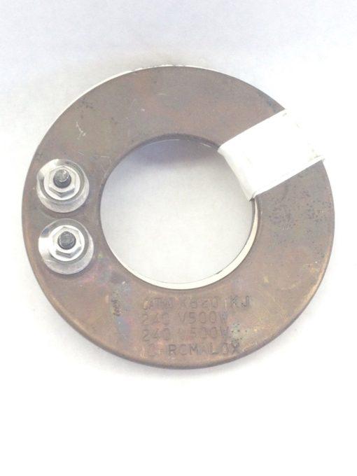 CHROMALOX KB20 KJ RING HEATER 240V 500W 2-PACK (A769) 1