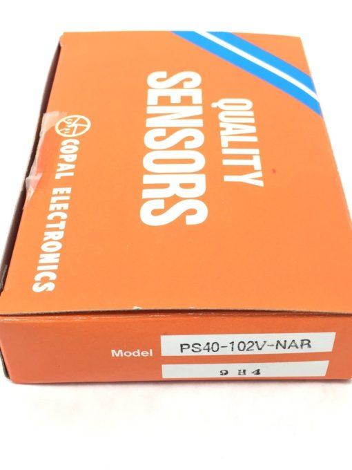 NIB! COPAL ELECTRONICS PS40-102V-NAR 9H4 PRESSURE SENSOR SWITCH (A542) 2