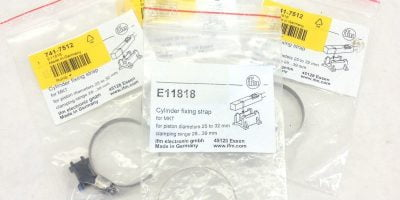 IFM E11818 LINEAR ACTUATOR CYLINDER FIXING STRAP KITS 741-7512 PACK of 4 (A770 1