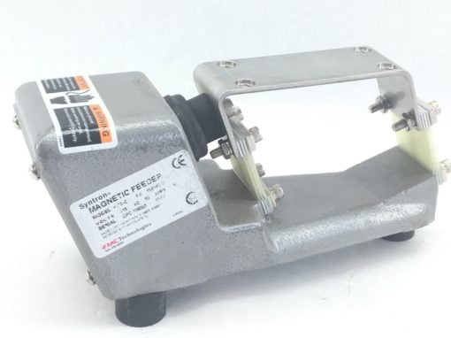 FMC SYNTRON F-T0-C MAGNETIC FEEDER *** BASE ONLY *** NO COIL (B457) 1