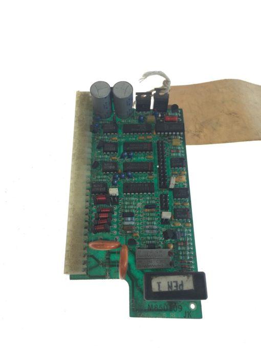 ABB TAYLOR ELECTRONICS 500S1166, I/O BOARD ASSEMBLY, REV J, USED, G71 1