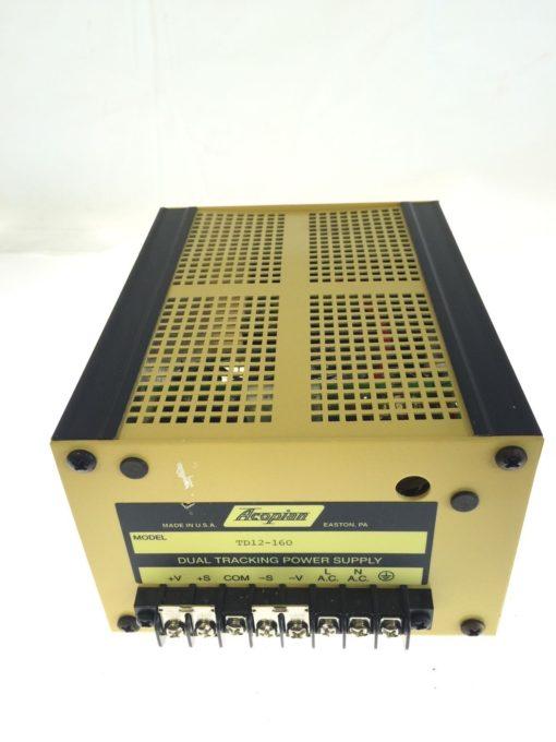 NEW NO BOX Acopian Dual Tracking Power Supply Model TD12-160, FAST SHIPPING, G71 1