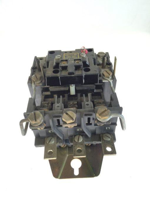 Allen Bradley Motor Starter 709COA Size 2 480/440VAC, 60/50CY, SERIES K, G78 2