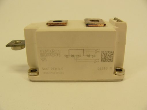 Semikron Module SKKT253/14E THYRISTOR/ DIODE MODULE NEW W/ WARRANTY (F70) 2
