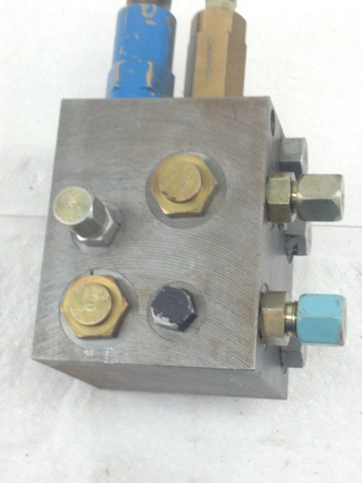VICKERS HYDRAULIC # 719-PSV5-10-0-0 PRESSURE SEQUENCE VALVE (HB4) 4