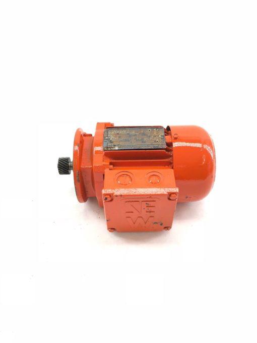 REBUILT SEW EURODRIVE SA37DT63L4 0.25KW MOTOR, 240/415VAC, 1.15/0
