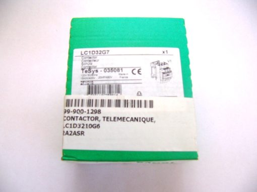 FAST SHIP! Genuine TELEMECANIQUE LC1D32G7 CONTACTOR (F71) 1