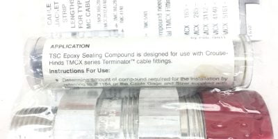 CROUSE HINDS TMCX3112 1″ TERMINATOR CABLE FITTING HAZ