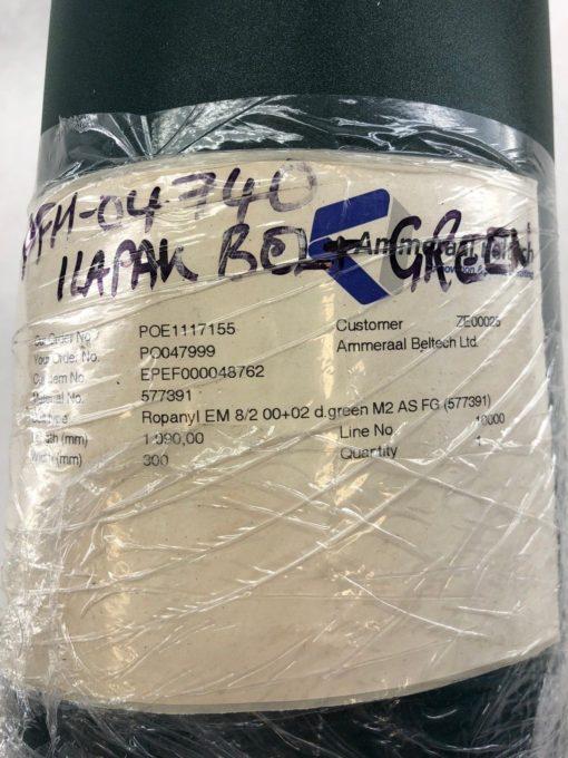 NEW ROPANYL EM 8/2 00+02 DARK GREEN M2 AS FG 577391 CONVEYOR BELT (B430) 2