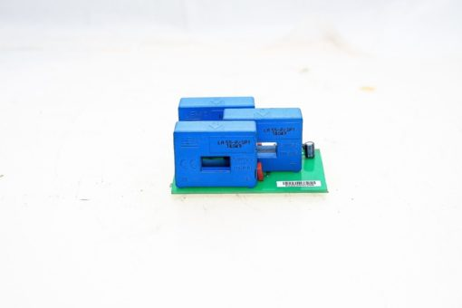 3 LEM LA 55-P/SP1 14049 CURRENT TRANSDUCERS ATTACHED TO PC BOARD NEW! (G74) 2