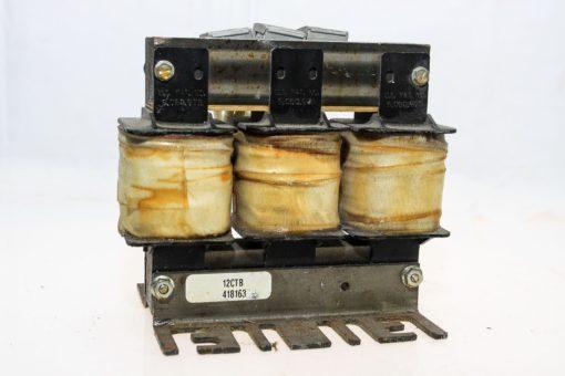 TRANS-COIL INC KLRUL12CTB 3 PHASE 50/60Hz 600VAC 12 AMP LINE REACTOR NEW!  (G80) 1