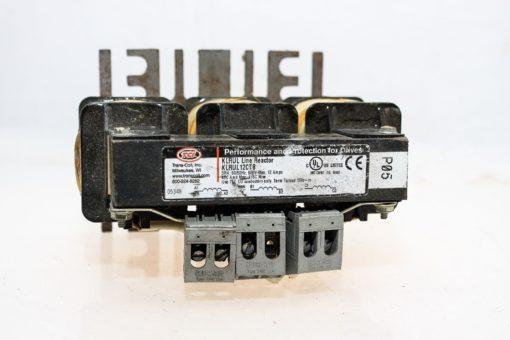 TRANS-COIL INC KLRUL12CTB 3 PHASE 50/60Hz 600VAC 12 AMP LINE REACTOR NEW!  (G80) 2