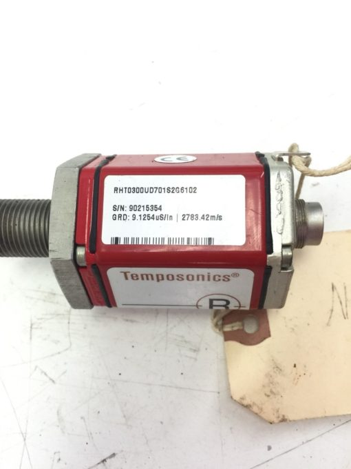 MTS Temposonics R-Series Sensor RHT0300UD701S2G6102, 2783.42M/S, 9