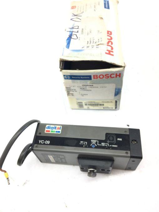 USED CHUGAI BOYEKI CO YC-09 DIGITAL SURVEILLANCE CAMERA, AC230V 50HZ, 30mA, B313 1