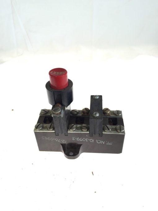 Cutler Hammer 10176H137 G Overload Relay, 600VAC MAX, NEW NO BOX, FAST SHIP, G84 2