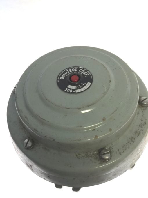 QUALITROL 208-006 02 LPRD Large Pressure Relief Device, 13 PSI, USED, B83 1