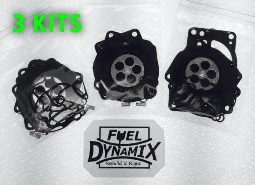 1995-1997 Kawasaki Keihin Triple Carburetor Rebuild Kit 900 1000 ZXI STX Jet Ski 2