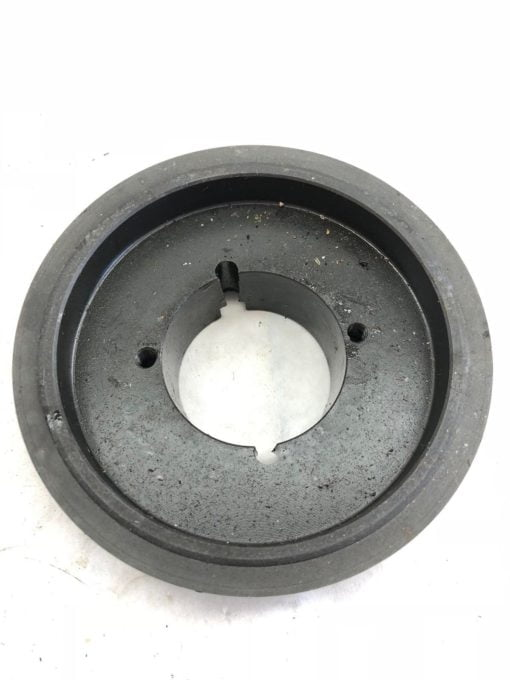 """USED UNBRANDED BLACK H150 4830 836 PULLEY, 6"""" O.D. 2-3/4"""" I.D"""