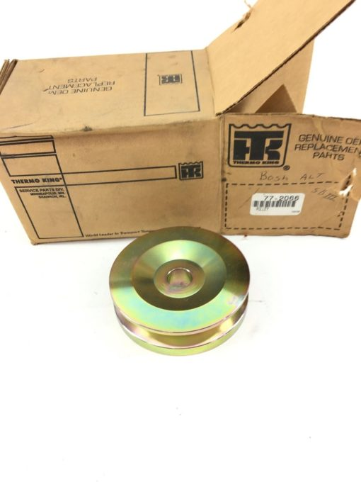 NEW IN BOX THERMO KING 77-2066 SINGLE GROOVE ALTERNATOR PULLEY, FAST SHIP! B296 1