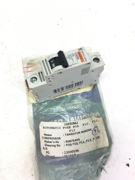TAMROTOR NT3091 AUTOMATIC FUSE MERLIN C60N CIRCUIT BREAKER, MULTI 9, (B295) 2