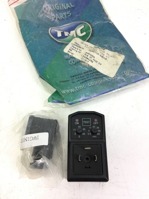 NEW TAMROTOR  NT0734 TIME CONTROL UNIT WEXON 72001098, WATER DRAIN RELAY, B296 1