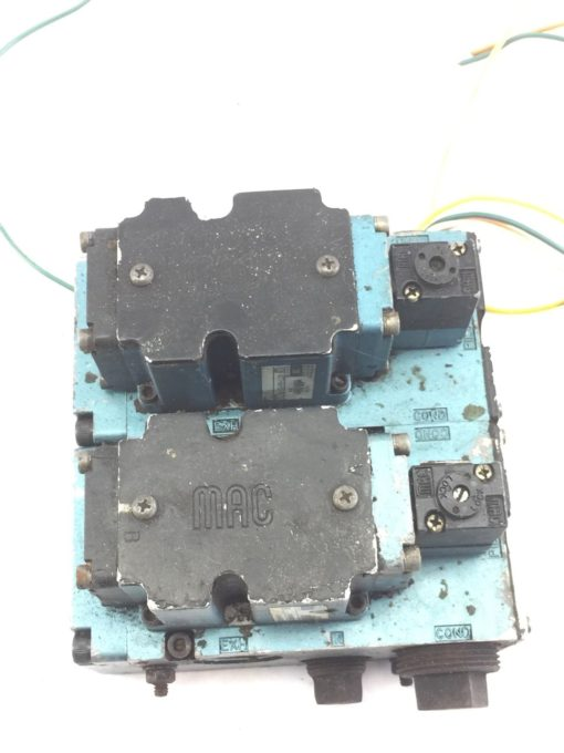 USED MAC 6511B-000-PM-112DA & 6511B-512-PM-1120A SOLENOID VALVE, MANIFOLD (B390) 1