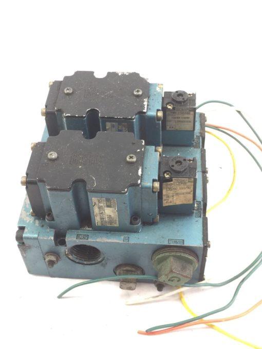 USED MAC 6511B-000-PM-112DA-0624 & 6511B-512-PM-1110A SOLENOID VALVE (B390) 1