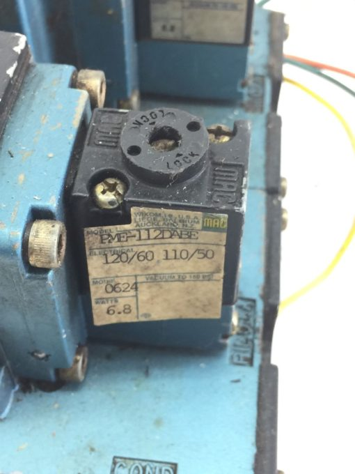 USED MAC 6511B-000-PM-112DA-0624 & 6511B-512-PM-1110A SOLENOID VALVE (B390) 2