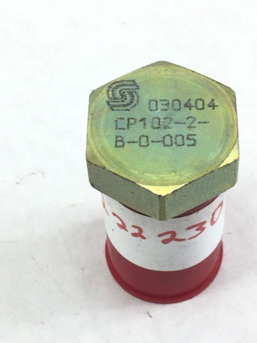 NEW! DANFOSS SUPERFOSS CP102-2-B-0-005 030404 CHECK VALVE FAST SHIP!!! (A230) 1