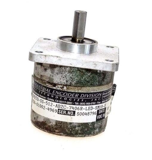 BEI XH25D-SS-512-ABZC-7406R-LED-SM18-S 924-01002-4969 INDUSTRIAL ENCODER!  (G88) 1