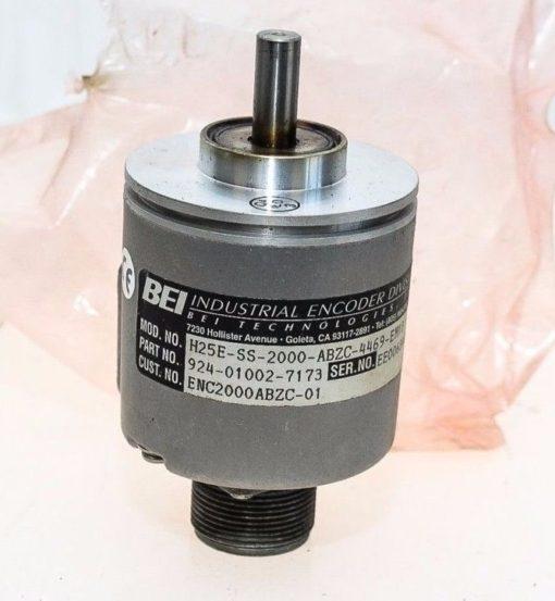 BEI H25E-SS-2000-ABZC-4469-EM18 924-01002-7173 INDUSTRIAL ENCODER NEW NO BOX G88 1
