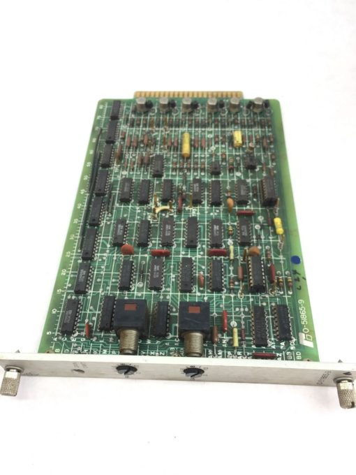 RELIANCE ELECTRIC 0-51865-9 CLDK CURRENT LOOP PCB BOARD USED (H256) 1