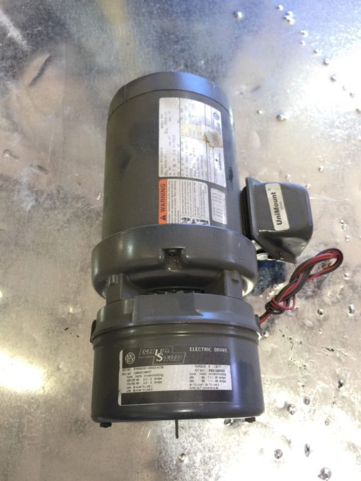 NEW Emerson CE52 Motor Replacement 1 HP, 208-230/460V, 3 PH, 1750 RPM, (P6) 3