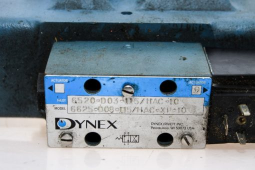 DYNEX 6625-D08-115/HAC-XP-10 HIGH PRESSURE CONTROL VALVE WITH SOLENOID NEW (G93) 2