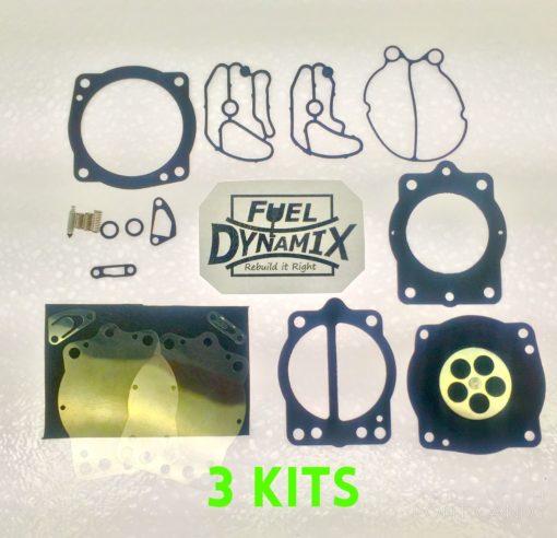 1996-1999 Polaris Keihin Triple Carburetor Rebuild Kit SL SLTX SLXH SLX 900 1050 1
