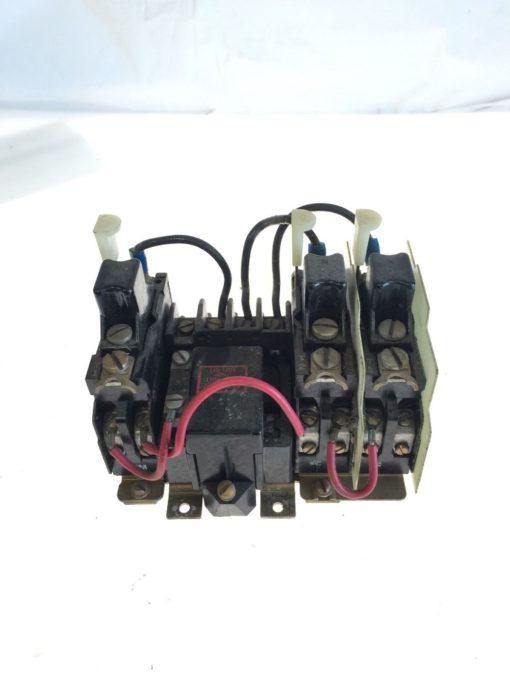 USED Allen Bradley 709-TOD103 Series K Contactor size 00 w/ N22 Heaters, G96 2