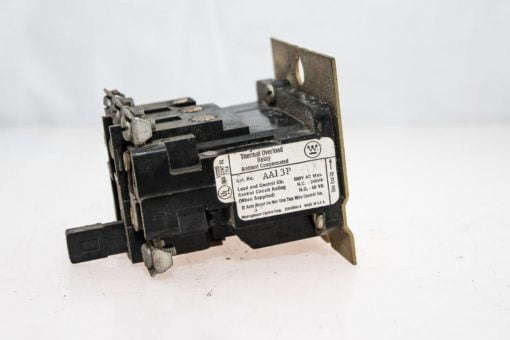 WESTINGHOUSE AA13P 600VAC MAX AMBIENT COMPENSATED THERMAL OVERLOAD RELAY (G95) 1