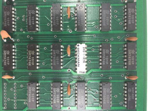 COE MFG DUAL SIGNATURE BOARD 013-0346 B VM 030319-AA NEW, NO BOX! (H256) 2
