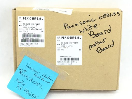NEW! PANASONIC PBA303BP535U PC BOARD W/COMPONENT (H281) 4