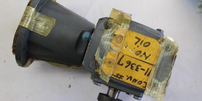 Boston Gear Speed Reducer RF71810B56 with Martin 60BS10 7/8 Sprocket *NEW*(B250) 1
