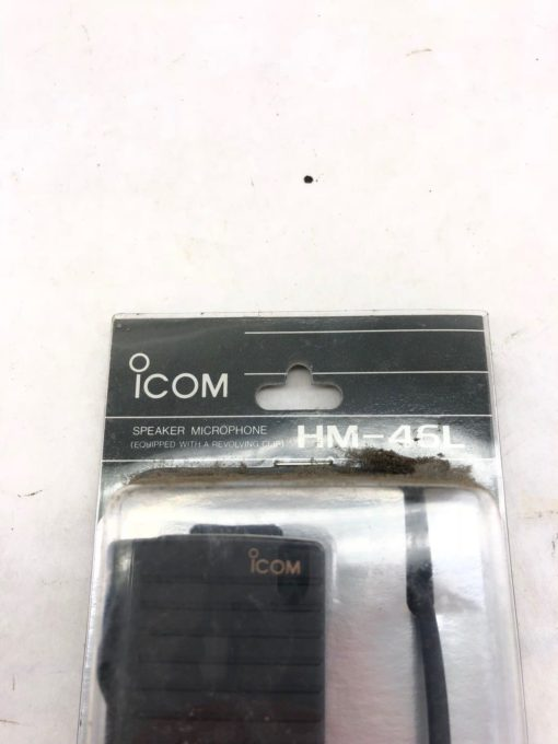 NEW IN PACKAGE ICOM HM-46L L ANGLE TYPE SP/MIC W/EARPHONE JACK, FAST SHIP! H349 2